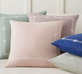Pottery Barn Emilia Embroidered Pillow Cover