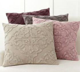 Pottery Barn Drew Embroidered Pillow Covers