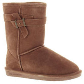 BEARPAW Girls' Val Boots, Taupe