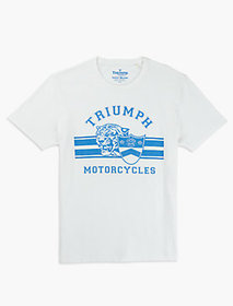 Lucky Brand Triumph Cycles Tee