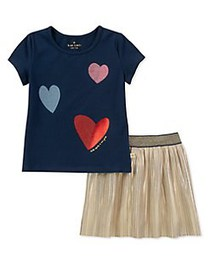 Kate Spade New York Baby Girl's Two-Piece Tossed H