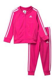 adidas Tricot Jacket & Pants Set (Toddler Girls)