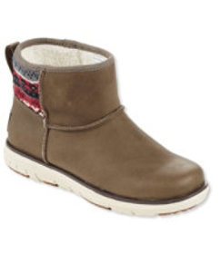 LL Bean Mountain Lodge Snow Boots, Low