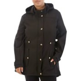 XOXO Junior Plus Size Hooded Soft Shell Anorak Jac