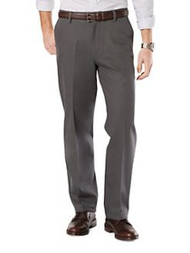 DOCKERS Dockers Signature Khaki Pants DARK GREY