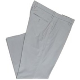 Mens Straight Fit Flat Front Stretch Pants