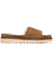 Y / Project brown X UGG LS1 suede and shearling sl