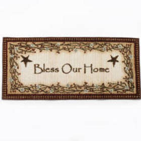 Bless Our Home Accent Rug