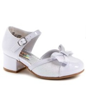 Toddler Girl Patent Glitter Bow Shoes