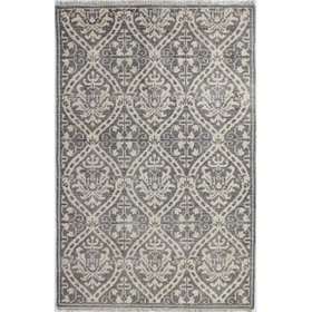 Kurtis Hand-Knotted Gray Area Rug