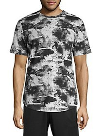 ASKYA Graphic Cotton Tee INK WATER