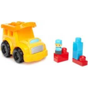 Mega Bloks School Bus with Removable Roof and 1-Bl