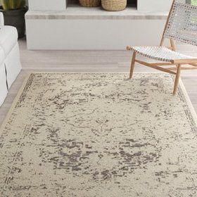 Tierney Brown/Cream Area Rug