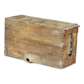 Bellows Solid Wood Basket