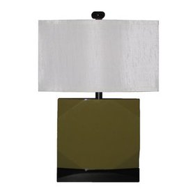"""Faceted 30"""" Table Lamp"""