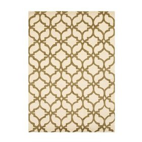 Innes Traditional Hand-Tufted Wool Ivory/Brown Are