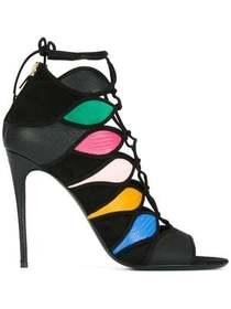 Salvatore Ferragamo colour block sandals