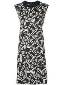 'S Max Mara geometric print T-shirt dress