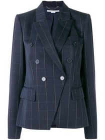 Stella McCartney double breasted check jacket