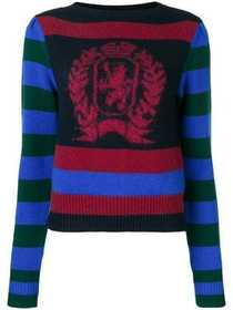 Hilfiger Collection striped logo sweater