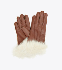 Tory Burch SHEARLING GLOVES