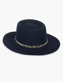 Lucky Brand Embellished Boater Hat