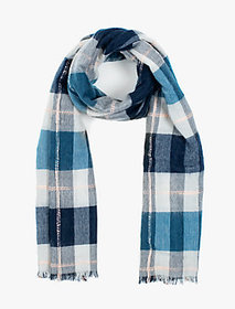 Lucky Brand Brushed Plaid Scarf on sale at Lucky Brand