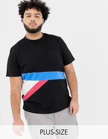 Another Influence PLUS Contrast Color Block T-Shir