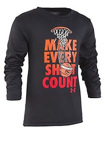 Under Armour Little Boy's Make Every Shot Count Te
