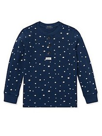 Ralph Lauren Childrenswear Little Boy's Star-Print