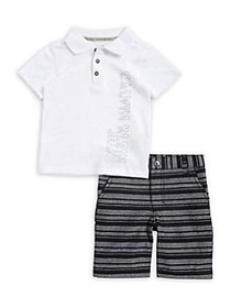 Calvin Klein Jeans Baby Boy's Two-Piece Polo and C