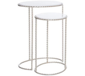 Inspire Me! Home Decor 2-Piece Nesting Side Tables