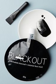Anthropologie Blackout Activated Charcoal & Coconu