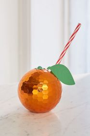 Disco Orange Sipper Cup