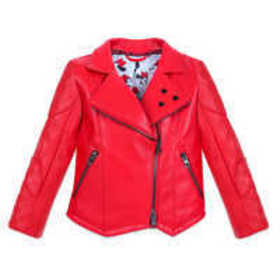 Disney Minnie Mouse Faux Leather Jacket for Girls