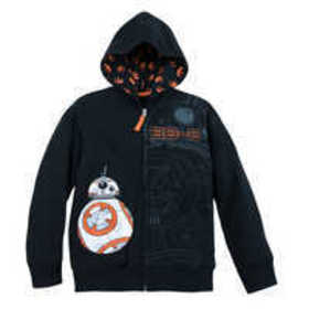 Disney BB-8 Zip Hoodie for Boys