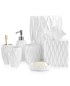 Roselli Trading Wave Bath Accessories Collection