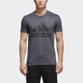 Adidas Badge of Sport Big and Tall Classic Tee