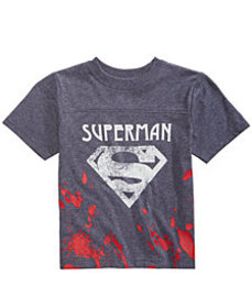 DC Comics Little Boys Superman Splatter Graphic T-