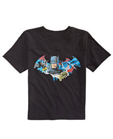 DC Comics Little Boys Batman Shield Cotton T-Shirt