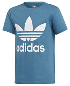 adidas Big Boys Trefoil Graphic Cotton T-Shirt