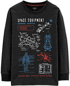 Carter's Little & Big Boys Space Equipment Graphic