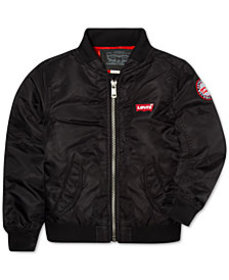 Levi's® Little Boys Logo Bomber Jacket