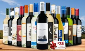 Up to 71% Off Bottles of Wine and Gift Voucher