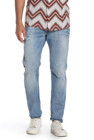 Diesel Tepphar Distressed Straight Leg Jeans