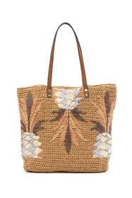 Tommy Bahama Puerto Limon Straw Tote Bag