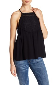 Melrose and Market Woven Lace Cami