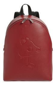 BOSS x Jeremyville Leather Backpack