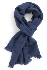 NORDSTROM MEN'S SHOP Solid Cashmere Scarf