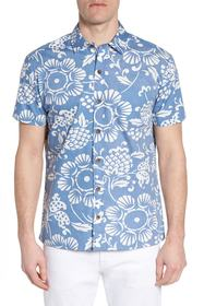 KAHALA Duke's Pareo Trim Fit Sport Shirt